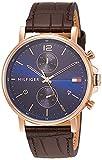 [トミーヒルフィガー] 腕時計 DANIEL 1710418 メンズ ブラウン [並行輸入品]