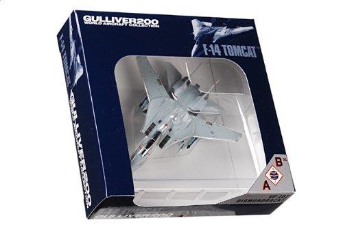 1:200 ガリバー World 飛行機 コレクション WA22069 Grumman F-14B トムキャット ダイキャスト モデル USN VF-102 Diamondbacks AB102【並行