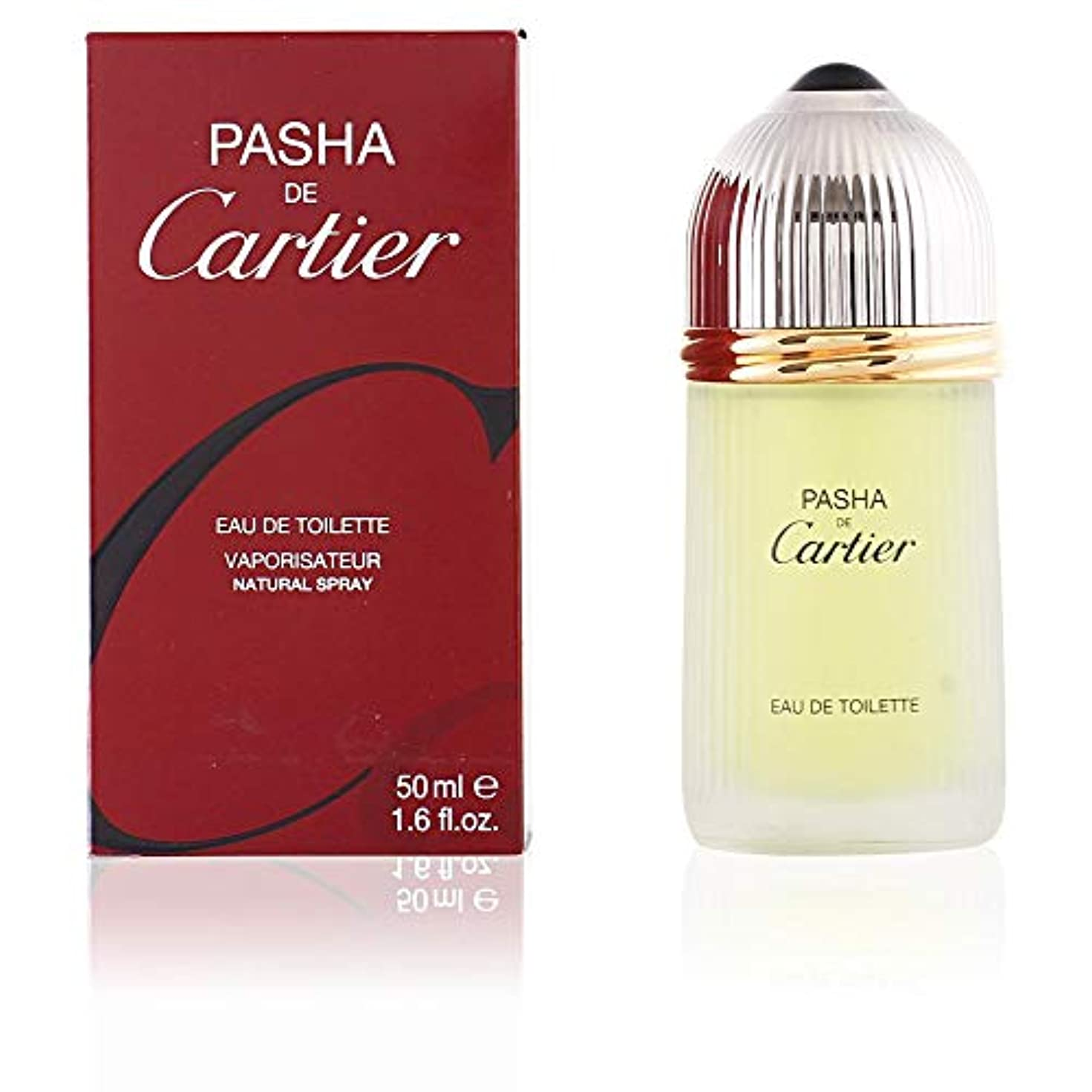 フロー減少北方Pasha De Cartier 100ml/3.3oz Eau De Toilette Spray Men EDT Cologne Fragrance