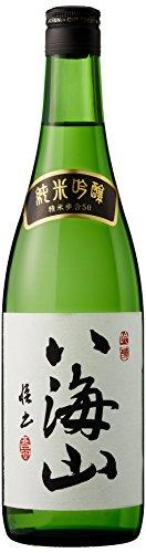 八海山 純米吟醸 (新潟) 720ML 1本