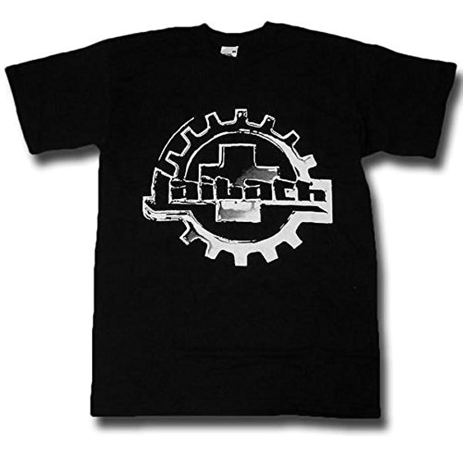 奨学金必要条件沼地Laibach ライバッハ Logo Tシャツ M