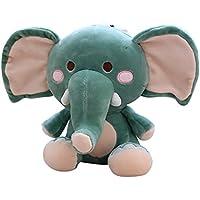 Decompressionおもちゃ、yamally _ 9r 23 cm Plush ElephantおもちゃCuddle Stuffed応力Reliever Toy for Kids大人 23cm グリーン Yamally_9R