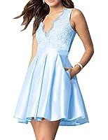 Bess Bridal DRESS レディース US サイズ: 6 カラー: ブルー