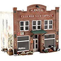 Planters Feed & Seed Supply 2-Story Pre-Fab Building N Woodland Scenics by N/A [並行輸入品]