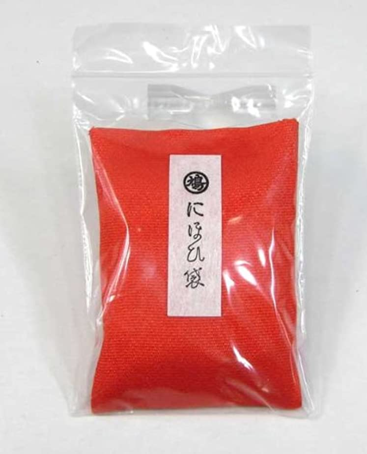 秀でる魔術従順なにほひ袋 タンス用 角形袋入りお香 赤角形(小) 715