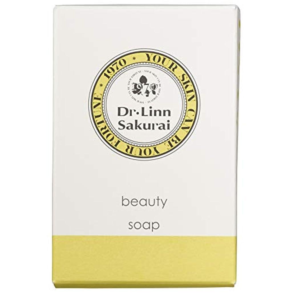 ガラガラケントマウスドクターリンサクライ 洗顔石鹸 ビューティソープ (90g)
