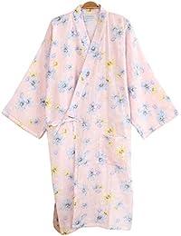 レディース 浴衣 寝巻き 桜の花柄 可愛い浴衣 お寝巻 ねまき パジャマ 旅館 和ざらし ガーゼ 寝巻き