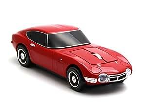 Click Car Mouse(クリックカーマウス)  TOYOTA  トヨタ 2000GT レッド