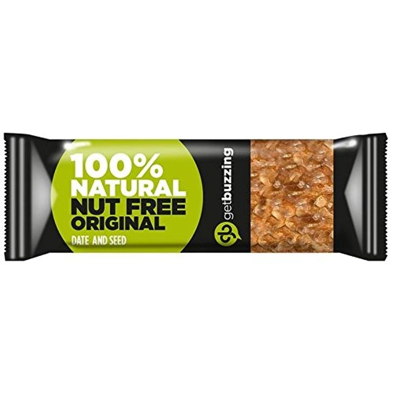 役に立たない精巧な息苦しいGetbuzzingナット無料のオリジナルバー62グラム (x 4) - Getbuzzing Nut Free Original Bar 62g (Pack of 4) [並行輸入品]