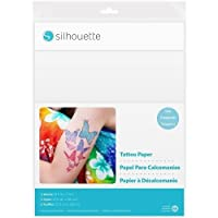 Silhouette (1-pack) Temporary Tattoo Paper 8.5in. x 11in. 2/pkg Siltat