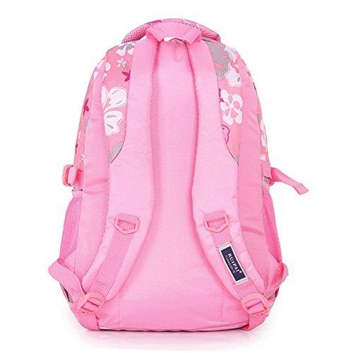 おもちゃ Coofit Flowers Pattern School Backpack for Girls Book Bag for College Bookbag Sky Blue [並行輸入品]