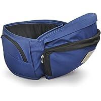 【ベビーアムール 】Bebamour 簡単デザインカラフル的なベビー用品臀部シット ウエストキャリー (ブルー)