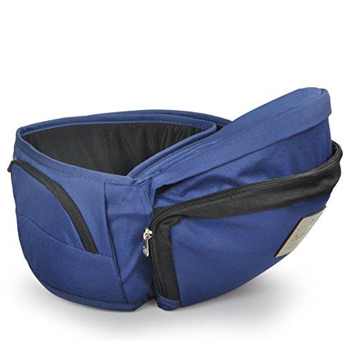 【ベビーアムール 】Bebamour 簡単デザイン カラフル的なベビー用品臀部シット ウエストキャリー (ブルー)