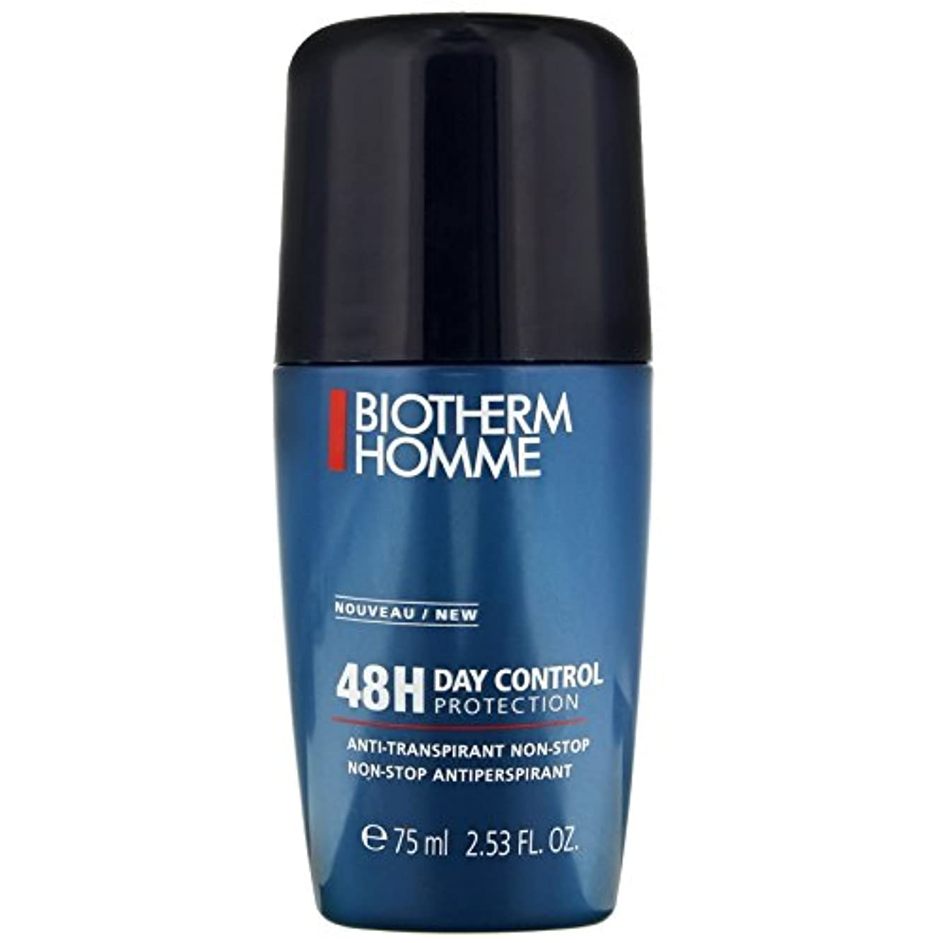 不一致世辞ウェーハビオテルム Homme Day Control Protection 48H Non-Stop Antiperspirant 75ml/2.53oz並行輸入品