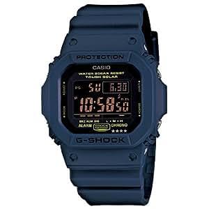 CASIO カシオ G-SHOCK 並行輸入品 Gショック メンズ 腕時計 ソーラー デジタル G-5600NV-2DR ネイビーブルー 海外モデル  [時計]