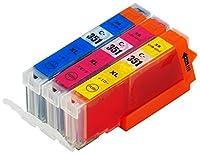 【ノーブランド品】(3 色セット) Canon BCI-350,BCI-350XL,BCI-351,BCI-351XL BCI-351C, BCI-351M, BCI-351XLC, BCI-351XLM, BCI-351XLY, BCI-351Y PIXUS MG6530, PIXUS MG5530, PIXUS MG5430, PIXUS MX923, PIXUS iP7230, PIXUS iX6830, PIXUS iP8730, PIXUS MG6330, PIXUS MG7130 【互換インクカートリッジ 】
