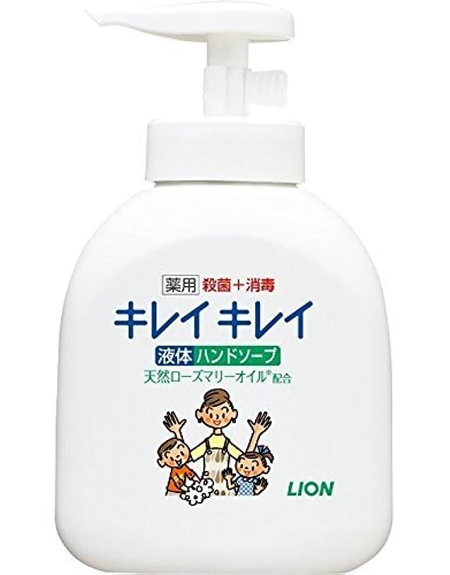 視聴者太陽柱【ライオン】キレイキレイ薬用液体ハンドソープ 本体ポンプ 250ml ×10個セット