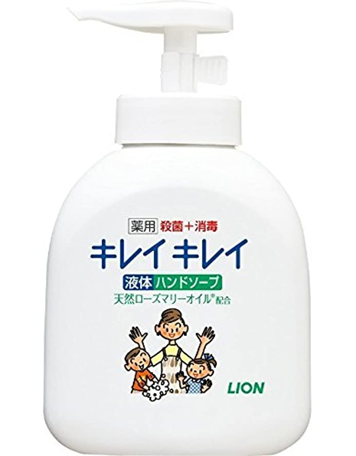 ブリード蒸発する確率【ライオン】キレイキレイ薬用液体ハンドソープ 本体ポンプ 250ml ×30個セット