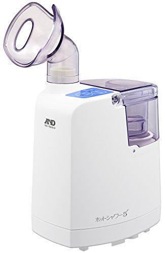 A&D 超音波温熱吸入器 ホットシャワー5 ブルー UN-1...