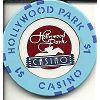 $ 1 Hollywood Park CaliforniaカジノチップObsolete