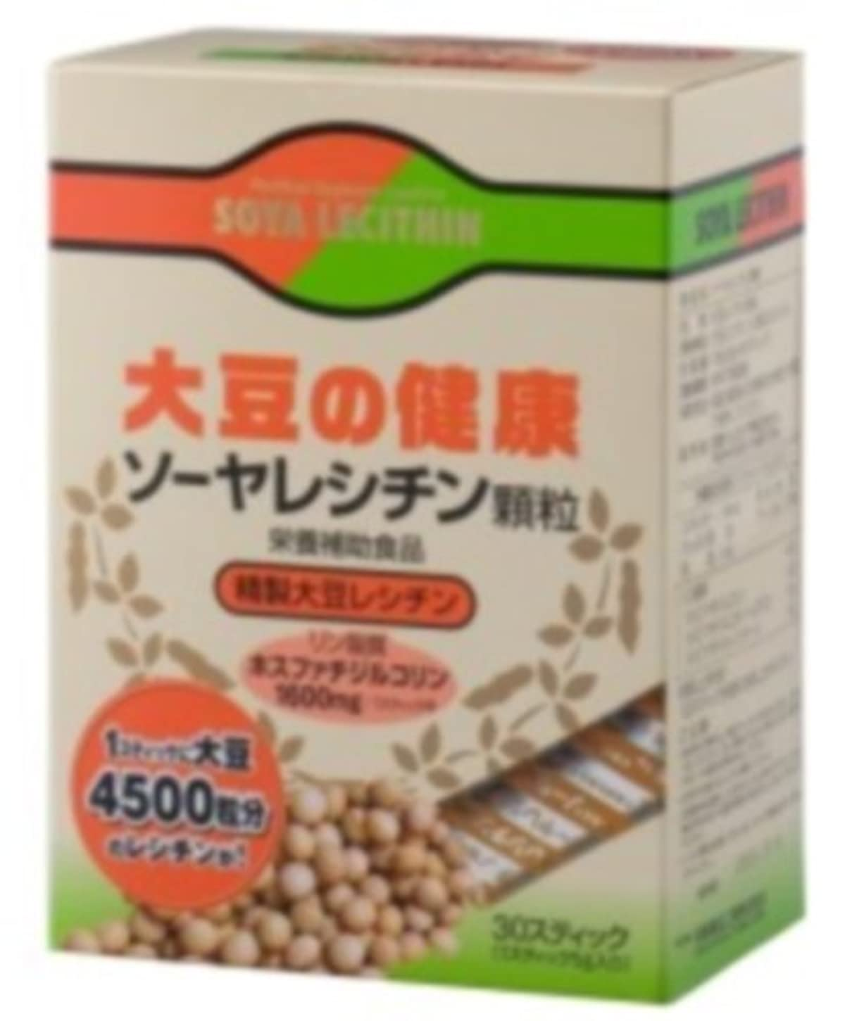 生息地行進作り上げるソーヤレシチン顆粒 30包