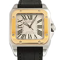 カルティエ Cartier サントス 100 MM W20107X7 新品 腕時計 レディ-ス [並行輸入品]