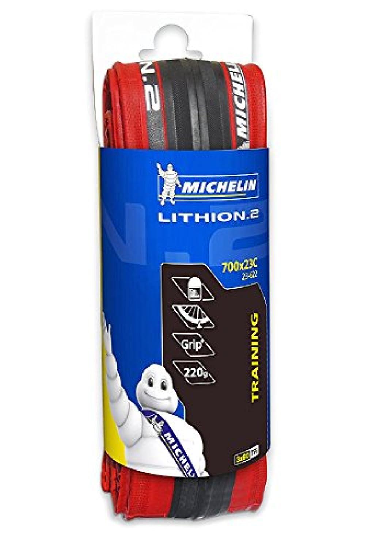 MICHELIN(ミシュラン) LITHION 2 RED 700X23C   700 X 23C