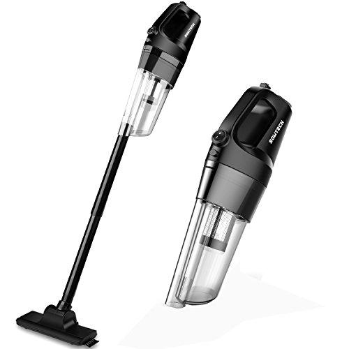 掃除機 コードレス サイクロン式 充電式 掃除器 超軽量 静音 5種類付属品 フィルター水洗う可能 4000mah大容量バッテリー内蔵 PSE規格品 13ヶ月保証 (ブラック)
