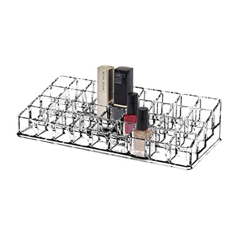恋人北豆YunNasi 口紅収納ボックス 36本 アクリル製 リップ収納ケース コスメ小物入れ?化粧品収納ケース 透明 リップクリーム収納棚