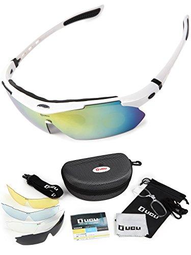 LICLI スポーツサングラス 「 偏光 レンズ uv 紫外...