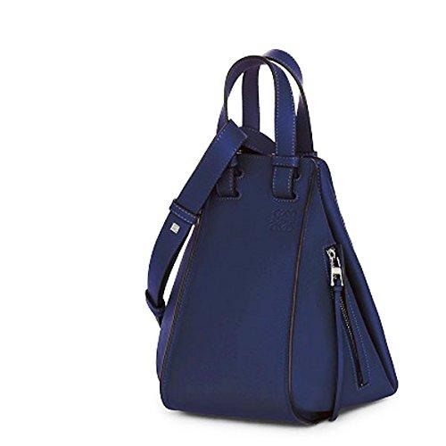 LOEWE(ロエベ) 387 30 N60 HAMMOCK SMALL BAG ハンモック スモール バッグ 6way ハンドバッグ ショルダーバッグ カラー5510/MARINE [並行輸入品]