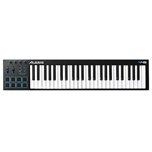 Alesis (アレシス) USB MIDIキーボード 49鍵 8パッド Ableton Live Lite付属 V49 B00IWWEW20 1枚目