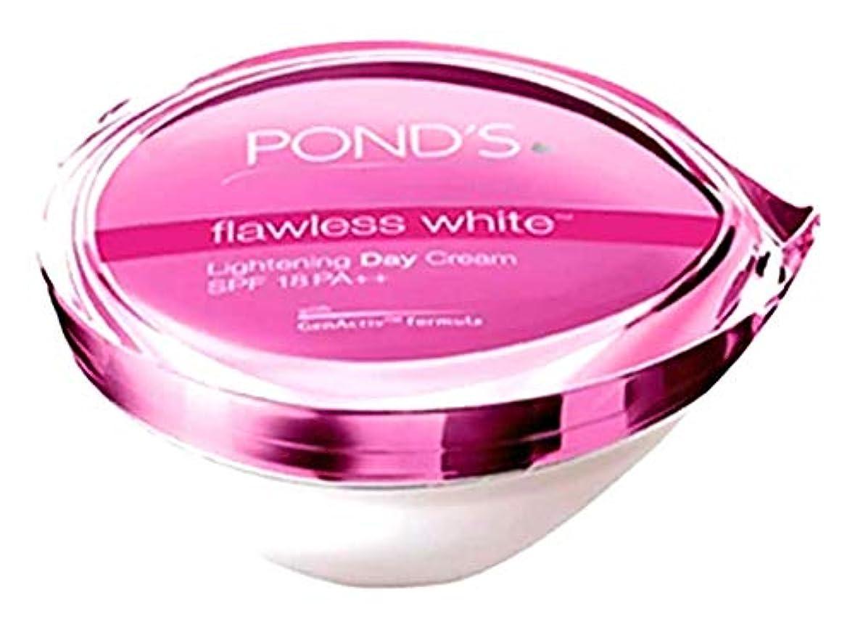 コーンウォール軽蔑する奨励POND'S flawless white Lightening Day Cream 【SPF 18 PA++】25g [並行輸入品]
