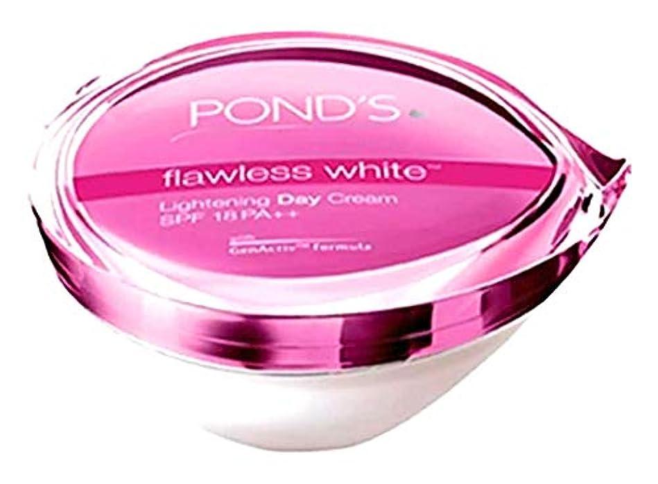 混沌スクリーチ密POND'S flawless white Lightening Day Cream 【SPF 18 PA++】25g [並行輸入品]