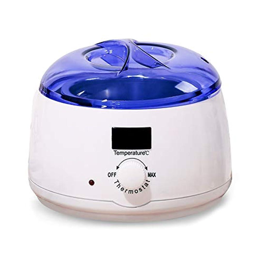 ワックス加熱ポットプロフェッショナルポータブル脱毛電気ワックスウォーマー、家庭用およびサロン用高速加熱