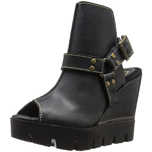 SbiccaレディースRayanne Ankle Bootie カラー: ブラック