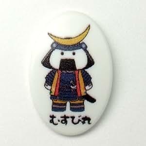 ゼッケン留め BIBFIX ご当地キャラクターシリーズ「むすび丸」5個1組×1(5個)
