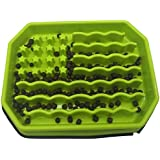 H HOME-MART Dog Bowl Slow Feeder Bowls- Slow Feed + Interactive + Bloat Stop + Anti Gulp Dog Bowls Fit Small Medium Dogs and
