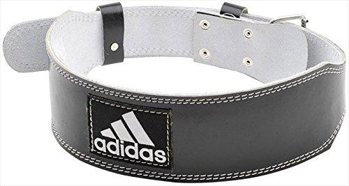 adidas (アディダス) レザー ウエイトリフティング ベルト L ADGB12235 1705