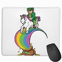 聖パトリックの日 マウスパッド ゲーム 疲労低減 レーザー&光学式マウス対応パッド 滑り止めゴム底 耐洗い表面 耐久 25 X 30cm