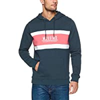 Mossimo Men's Rose Pullover Hoodie, Midnight Ink
