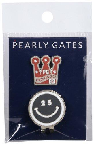 [パーリーゲイツ] PEARLY GATES 25 th アニバーサリー ニコ チャン ゴルフマーカー 053-184216 120 (120 NAVY)