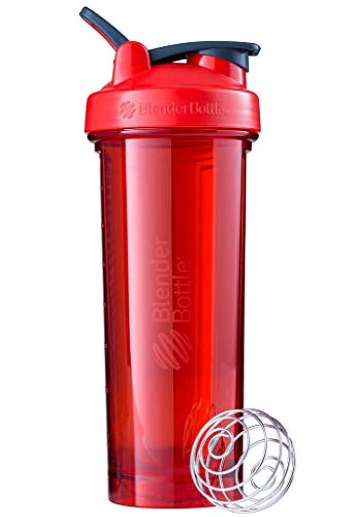 後ろにフォーマル挑発するブレンダーボトル 【日本正規品】 ミキサー シェーカー ボトル Pro32 32オンス (940ml) レッド BBPRO32 RD