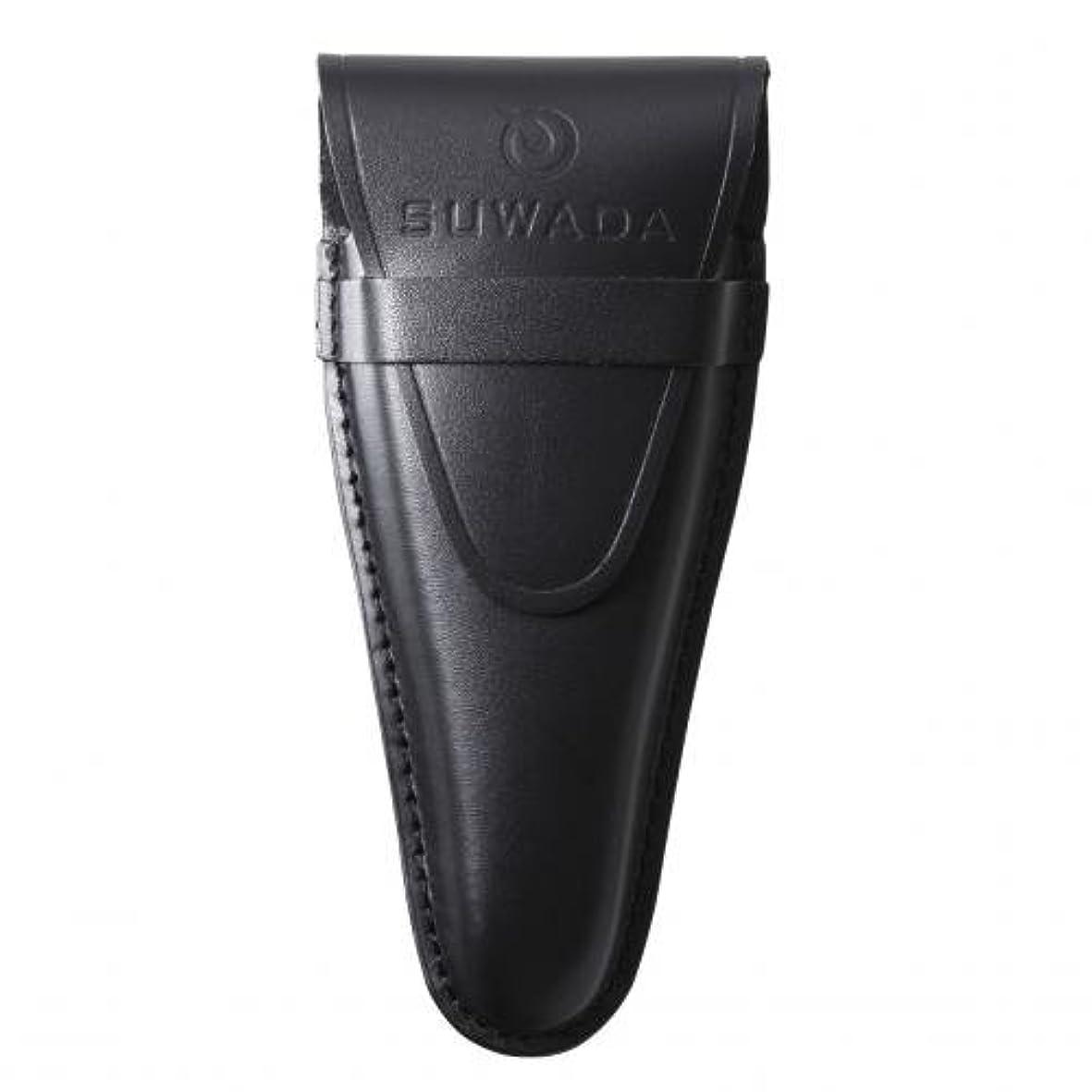 実験的気づくカップル【SUWADA】 爪切り用本革ケースクラシックL用 色=ブラック