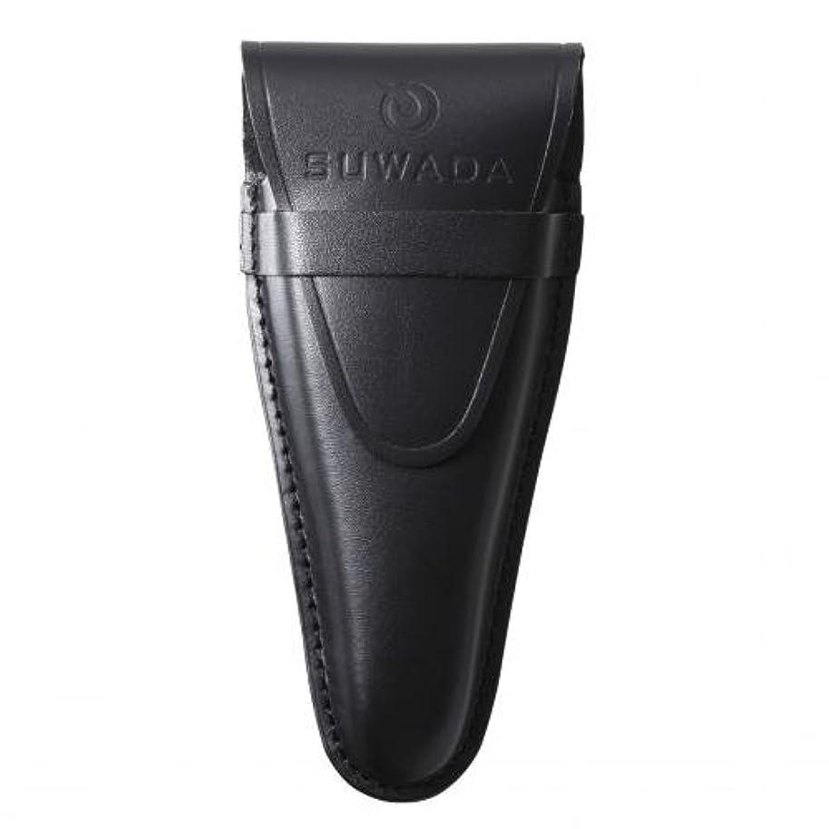 実行フルーツ役に立たない【SUWADA】 爪切り用本革ケースクラシックL用 色=ブラック