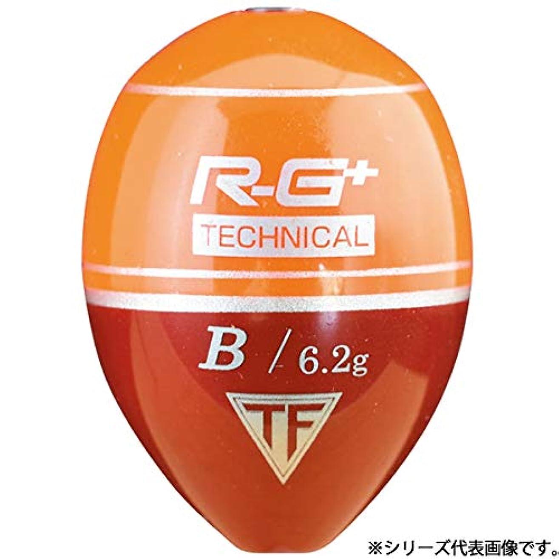 豆腐船乗り完了釣研(TSURIKEN) ウキ R-G+ テクニカル スカーレット G2