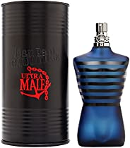 Jean Paul Gaultier Ultra Male for Men Intense Spray, Eau de Toilette, 4.2 Ounce