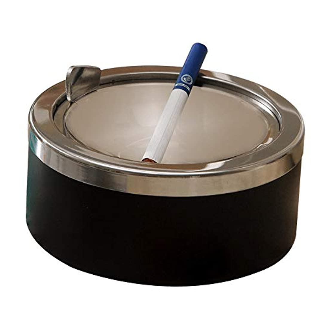 追加する効率的に掃くふたが付いている防風の灰皿のステンレス鋼の灰皿
