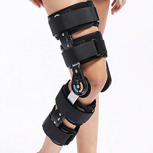 調整可能なひざ掛け 膝サポーター膝半月板術後リハビリトレーニング機材 膝関節を固定するための支具 膝骨折リハビリ支柱