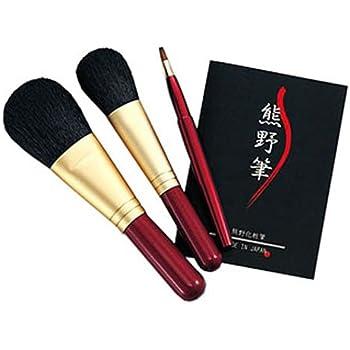 熊野筆 化粧筆セット 筆の心 KFi-80R
